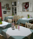 Gastraum im Wintergarten